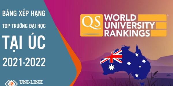 Bảng xếp hạng các trường đại học hàng đầu của Úc 2022